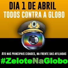 Genteee já começou o twittaço.. Vamos lá.. Usem #ZeloteNaGlobo ... Vamos botar a tag no topo