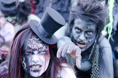 The  Zombie Walk is coming up on October 4 in Victoria BC! http://www.tourismvictoria.com/includes/events/Victoria-Zombie-Walk/5253/