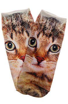 *MKL Accessories The Brown Cat Socks : Karmaloop.com - Global Concrete Culture
