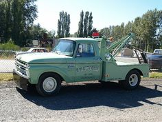 Nice Old Ford Tow Truck by moonm, via Flickr