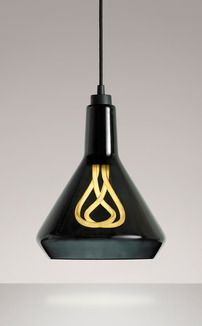 Plumen Drop Top Lamp Shade The innovative lighting brand introduces their first shade design, made of mouth-blown glass