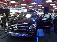 Mercedes Benz ML 500 Guard offers protection at 2013 JIMS - Cars.co.za