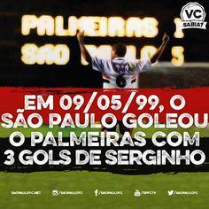 #17 - 09.05.2015. Relembrando a goleada de 5 a 1 sobre o Palmeiras, ocorrida no dia 9 de maio de 1999