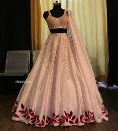 New Designer Wedding Lengha Choli Wear Saree Ethnic Heavy Lehenga Choli Suit NS - New Ideas Lehenga Choli Designs, Designer Bridal Lehenga, Designer Party Wear Dresses, Indian Designer Outfits, Indian Fashion Trends, Indian Lehenga, Indian Wedding Lehenga, Lehnga Dress, Lengha Choli