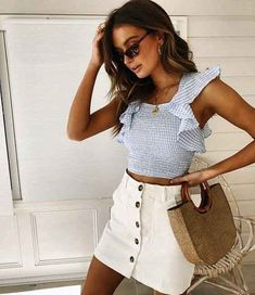 Best Fashion Style Women Boho Closet Ideas 59 Ideas 2019 The post Best Fashion Style Women Boho Closet Ideas 59 Ideas 2019 appeared first on Outfit Diy. Cute Summer Outfits, Cute Casual Outfits, Spring Outfits, Outfit Summer, Mode Purple, Fashion Outfits, Womens Fashion, Fashion Ideas, Women's Casual Fashion