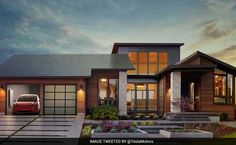 Elon Musk Reveals Solar Roof Made Of Glass Tiles In L.A.