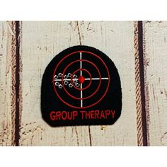Patch - Group Therapy – EmFreudery Designs Design Files, All Design, Machine Embroidery Designs, Patches, Therapy, Stitch, Personalized Items, Cards, Vip