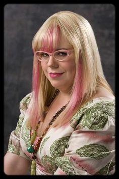 Kristen Vangsness alias Penelope Garcia.