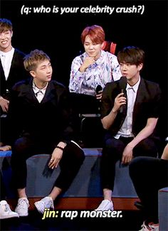 Jimin: 'omma and appa so cute together' | BTS - Rap Monster, Jin