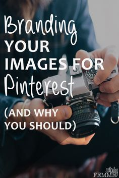 Do you know why it's so important to brand your images for Pinterest? I had a big lesson in why it's so important recently - here's what I learned.