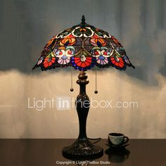 Online shopping from a great selection at Lighting Store. Cheap Table Lamps, Tiffany Table Lamps, Lighting Store, Art Nouveau, Wall Lights, Glass, Painting, Home Decor, Flower