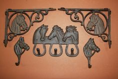 5 Western Americana horse decor rustic by WePeddleMetal on Etsy