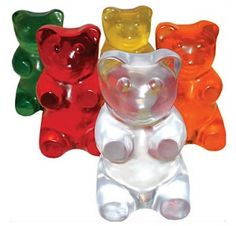 gummy bear experiments