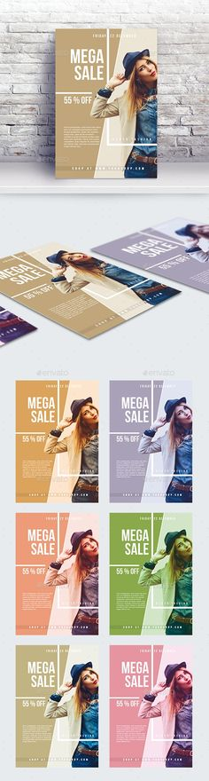 Features: – Easy editable text – CMYK @ 300 DPI – Print-ready – Size: + bleed – Color variations – All items are included – Perfectly Aligned – Organised layers and grouped – Strong, Clean Modern Layout – Help file included Fashion Sale, Fashion Fashion, Hair Png, Creative Flyers, Flyer Layout, Sale Flyer, Flyer Template, Flyer Design, Photoshop