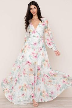 Giselle Maxi Dress #ad #floral #dress