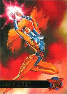 Jean Grey ('95 Fleer Ultra X-Men)