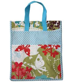 Go green with this cute #DIY tote bag!