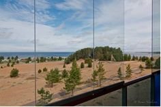 View from Kalajoki Spa Hotel to the sea