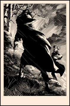 Discovered Its Shape by Bernie Wrightson