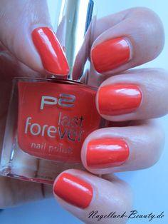 Hot Tango von P2. Ich liebe dieses Rot :) - http://www.nagellack-beauty.de/p2-hot-tango/ #p2 #hottango #nagellack #rot #roternagellack #rednailpolish #nagellackbeauty