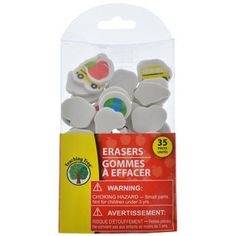 Fun mini erasers are perfect prizes to reward students who excel. pack of Te Prize Box, Desktop Accessories, Diy Arts And Crafts, Goodie Bags, Dollar Tree, Packing, Education, Learning, Mini