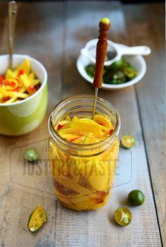 Manisan Mangga dengan Lemon Cui