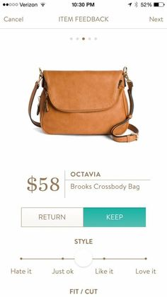 I love the simplicity of the Octavia Brooks Crossbody Bag! - handbag, burberry, designer, summer, travel, ralph lauren purse *ad