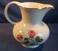 Seltmann Weiden, Milchkännchen 1, Annabell rote Rose, weitere, Porzellan