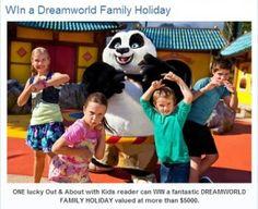 WIN a DREAMWORLD Family Holiday