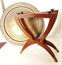 great folding side table $70