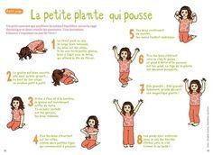 P our un retour au calme à la fin de la séance de motricité ou un moment de détente en début d'après midi, voici des fiches de yoga publiées dans Pomme-D'api et disponibles ici:...