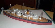 Russian Monitor Smerch Free Ship Paper Model Download