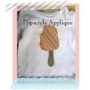 Popscicle Applique - via @Craftsy