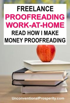 Freelance proofreading can change your financial life by giving you a work at home job that can help you to make extra money working online from home! by Unconventional_Prosperity Read Earn More Money, Ways To Earn Money, Make Money Fast, Earn Money Online, Make Money From Home, Online Earning, Marketing Program, Affiliate Marketing, W 6