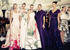 Carolina Herrera Spring 2015 RTW – Backstage