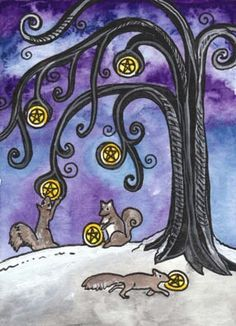 Six of Pentacles - The art of give and receive