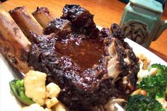 Crock Pot Asian-Inspired Beef Ribs. OMG, this was good!!! We didn't have Five-Spice powder or sake, so used Garam Masala and red wine instead. Made our own hoisin sauce using recipe 92803.