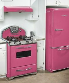 1000 images about pink kitchen on pinterest pink kitchens pink kitchen appliances and. Black Bedroom Furniture Sets. Home Design Ideas