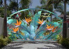 Custom gate byThe Art of Craft, Gregory Craft and Randolph Craft