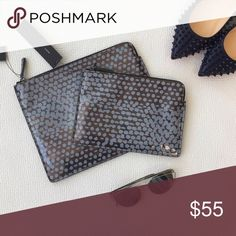 Small MARC by MARC Jacobs Pouch MARC by Marc Jacobs tech pouch. Use it for your iPad, to store cables, pens/pencils, or any other item. Has a luminescent color pattern that is gorgeous! New with tags! This smaller pouch in the photo. Marc by Marc Jacobs Bags