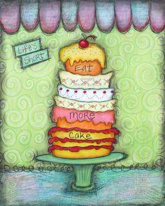 Cake....