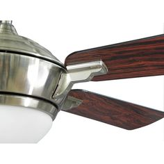 Hampton Bay Midili 44 in. Indoor Brushed Nickel Ceiling Fan-68044 - The Home Depot