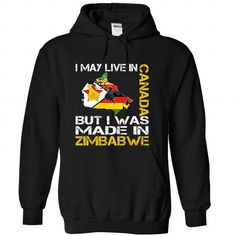 I May Live in Canada But I Was Made in Zimbabwe Yellow T Shirts, Hoodies. Check price ==► https://www.sunfrog.com/States/I-May-Live-in-Canada-But-I-Was-Made-in-Zimbabwe-Yellow-dggbfibneo-Black-Hoodie.html?41382 $39.99