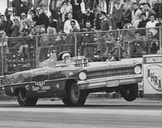 Vintage Drag Racing - Funny Car - Dick Harell - Chevy II