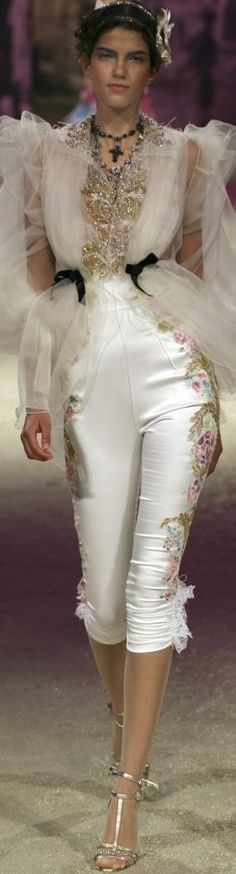 Christian Lacroix Haute Couture the pants... love them Spring-Summer 2006