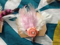 Feather hair accesory