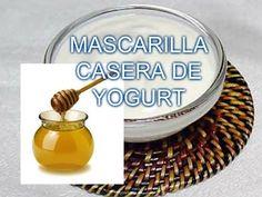 M MASCARILLA CASERA DE YOGURT - YouTube