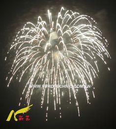 silver fireworks | Silver Strobe (34A03)