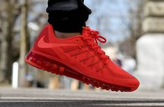 NIKE AIR MAX 2015 (BRIGHT CRIMSON)