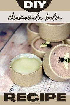 How to make herbal balms and salves recipe with this DIY chamomile balm recipe for natural skin care and relief of dry skin and chapped lips. This homemade chamomile balm recipe is divine. Scented with cocoa, ginger and espresso, this DIY chamomile lip balm recipe is packaged in eco-friendly paperboard jars. A lovely handcrafted gift idea, these herbal infused balms are great for DIY holiday gifts for friends and family. A natural way to care for skin, this holistic skin care recipe is a… Salve Recipes, Lip Balm Recipes, Soap Recipes, Healthy Food Quotes, Natural Beauty Recipes, Diy Lotion, Sugar Scrub Recipe, Diy Lip Balm, Chapped Lips
